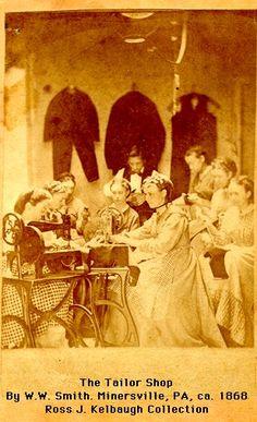 The Tailor Shop, c. 1868