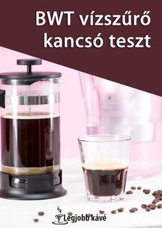Mitől lesz jobb minőségű a kávé? Attól, hogy jobb minőségű vizet használunk hozzá. French Press, Coffee Maker, Kitchen Appliances, Coffee Maker Machine, Diy Kitchen Appliances, Coffee Percolator, Home Appliances, Coffee Making Machine, Coffeemaker