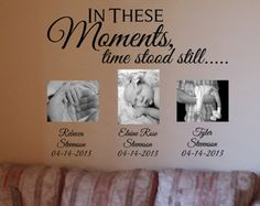 In these moments time stood still wall decal by WallapaloozaDecals