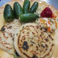 Spinach, Zucchini and Cheese Pupusas
