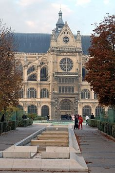 The Church of St Eustace, is a church in the 1st arrondissement of Paris. The present building was built between 1532 and 1632.