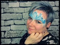 Ice queen Airbrush, Ice Queen, Tattoos, Body Art, Carnival, Face, Kids Makeup, Bodypainting, Mardi Gras
