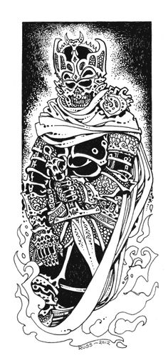 perfectcromulence:  Looks like Russ took another stab at one of his best Fiend Folio illos.