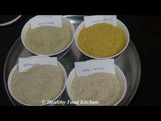 How to differentiate between Kodo Millet(Varagu),Little Millet(Samai),Foxtail Millet , Kuthiraivali - YouTube