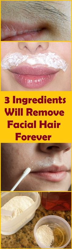 3 ingredients you will get rid of it forever