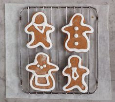 A perfectly flavored, surprisingly simple recipe for #gluten-free gingerbread cookies