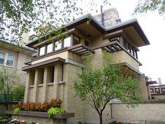 Frank Lloyd Wright Prairie Houses h p sutton house. frank lloyd wright prairie style. mccook