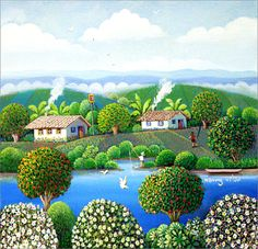 Paisagem Rural 24 x 30  | by Henry Vitor