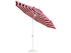 Treasure Garden Quick Ship  Market Aluminum 9' Foot Wide Crank Lift Push Button Tilt Umbrella | UM920QUICKSHIP