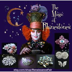 The Magic of Rhinestones by renaissance-fair on Polyvore featuring WALL