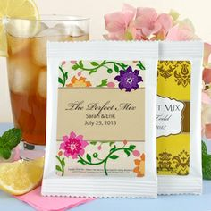 Iced Tea Wedding Fav