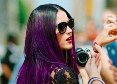 Victorious People: beauty: purple hair