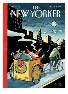The New Yorker Cover - December 15, 2008 Giclee Print by Marcellus Hall at Art.com