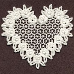 FSL Sweet Hearts 9 - 4x4 | What's New | Machine Embroidery Designs | SWAKembroidery.com Ace Points Embroidery