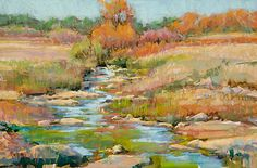 OCTOBER FLOW by Robert Rohm Pastel ~ 14 x 21