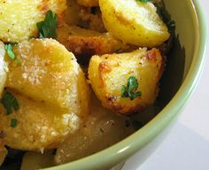 For the Love of Cooking » Parmesan Roasted Potatoes