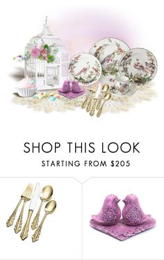 """""""Birds!"""" by sjlew ❤ liked on Polyvore featuring interior, interiors, interior design, home, home decor, interior decorating and Wallace"""