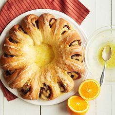 You won't believe how gorgeous this beautiful Cranberry-Orange Tea Ring is to make: http://www.bhg.com/recipes/breakfast/easy/make-ahead-breakfast/?socsrc=bhgpin070814cranberryorangetearing&page=3