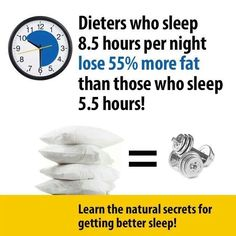 Can't lose weight? The secret to FAT loss is in your SLEEP! Weight Loss For Women, Fast Weight Loss, How To Lose Weight Fast, Every Other Day Diet, Health Diet, Health Fitness, Sleep Studies, Sleep Solutions, Lose 5 Pounds