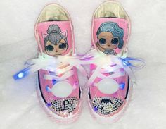TaylorsPenny Bling Converse/ Bling Sneakers for toddlers/Supergirl Birthday/ Sparkly Sneakers/ Kids fashion/ Bling Sneakers for toddlers/ NYC Designer/ Custom Sneakers. 7th Birthday Party Ideas, Birthday Parties, Birthday Pinata, Surprise Birthday, Doll Fancy Dress, Cadeau Surprise, Bling Converse, Princess Face, Doll Party