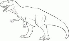 Amazing of Free Printable Dinosaur Coloring Pages For Kid #375