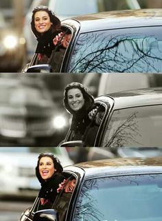 Lea Michele | Filming Glee in NYC