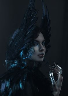 Light Pen by Kirill Sakrukin on Female Reference, Photo Reference, Art Reference, Dark Fantasy Art, Fantasy Artwork, Fantasy Portraits, Surreal Portraits, Dark Art Tattoo, Cool Halloween Makeup