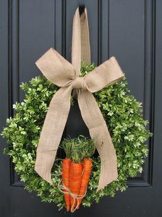 Boxwood Wreaths XL Easter Wreaths Spring Wreaths by twoinspireyou, $95.00