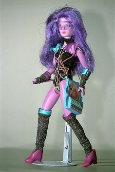 Synergy doll from Jem and The Holograms