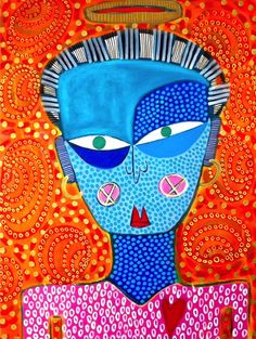 Saint Edna by @stuckyart #art #stuckyart