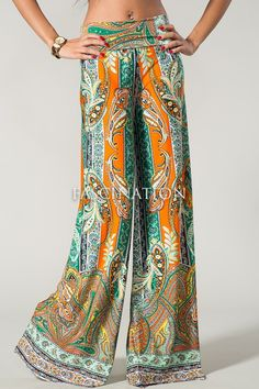 printed palazzo pants - Google Search