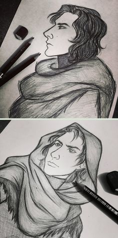 Kylo+Ren+sketches+by+7Lisa.deviantart.com+on+@DeviantArt