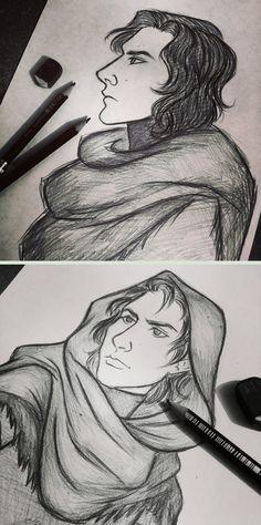 Kylo+Ren+sketches+by+7Lisa.deviantart.com+on+@DeviantArt
