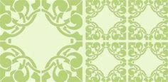 Vintage Tile Pattern 39 stencil
