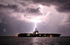 Plankowner!  Nimitz class aircraft carrier USS Harry S. Truman CVN-75 US Navy
