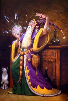 Conjurers Visionary Wizard