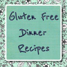 A week of gluten free dinner recipes