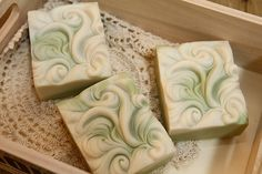 You should visit this site. She has the most beautiful soap I have ever seen. Wish she had some videos.