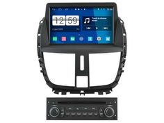 Android Car Audio FOR PEUGEOT 207/207CC (2007-2014)  car dvd gps player navigation head unit device BT WIFI 3G