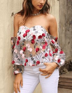 EMBROIDERY BLOUSE SHIRT Clothing Dresses Tops & Tees Sweaters Fashion Hoodies & Sweatshirts Jeans Pants Skirts Shorts Leggings Active Swimsuits & Cover Ups Lingerie, Sleep & Lounge Jumpsuits, Rompers & Overalls Coats, Jackets & Vests Suiting & Blazers Socks & Hosiery