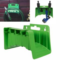 Hose Pipes Hanger Reel Holder Wall Mounted Fence Tap Garden Watering Irrigation