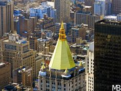 Scatti e Bagagli: 7 giorni a New York, la città che non dorme mai! Il tetto dorato del New York Life Insurance Building