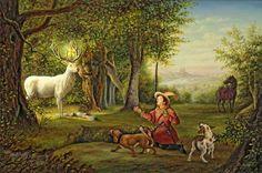 Hubertus St Hubert patron of the hunt and some liqueurs Hunting Art, Hunting Dogs, Catholic Saints, Patron Saints, Ora Pro Nobis, St Hubert, Spiritual Symbols, Spiritual Warfare, November