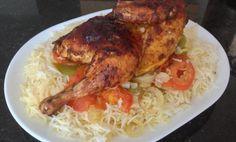 طريقة عمل مندي دجاج بسيطه وسريعه