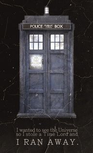 I want to steal a Time Lord