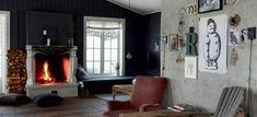 Dit rustieke huis in Noorwegen heeft een rauw randje - Roomed Home Appliances, Wood, Home Decor, House Appliances, Decoration Home, Woodwind Instrument, Room Decor, Timber Wood, Appliances