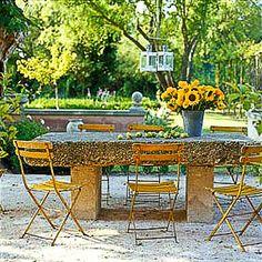 Le Thor, Provence, designer house for 9  http://www.theluberon.com/rentals/ls/le-thor/9/mas-de-la-rose
