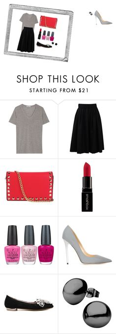 """Boyo"" by boyo-bolortsetseg on Polyvore featuring Polaroid, T By Alexander Wang, Brunello Cucinelli, Smashbox, OPI, Jimmy Choo, women's clothing, women's fashion, women and female"
