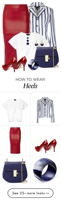 """2240"" by mljilina on Polyvore featuring Ralph Lauren Black Label, Zero + Maria Cornejo, Rochas, Gucci and Chloé"