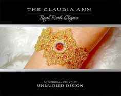 The Claudia Ann Bracelet pdf beading tutorial by UnbridledDesign